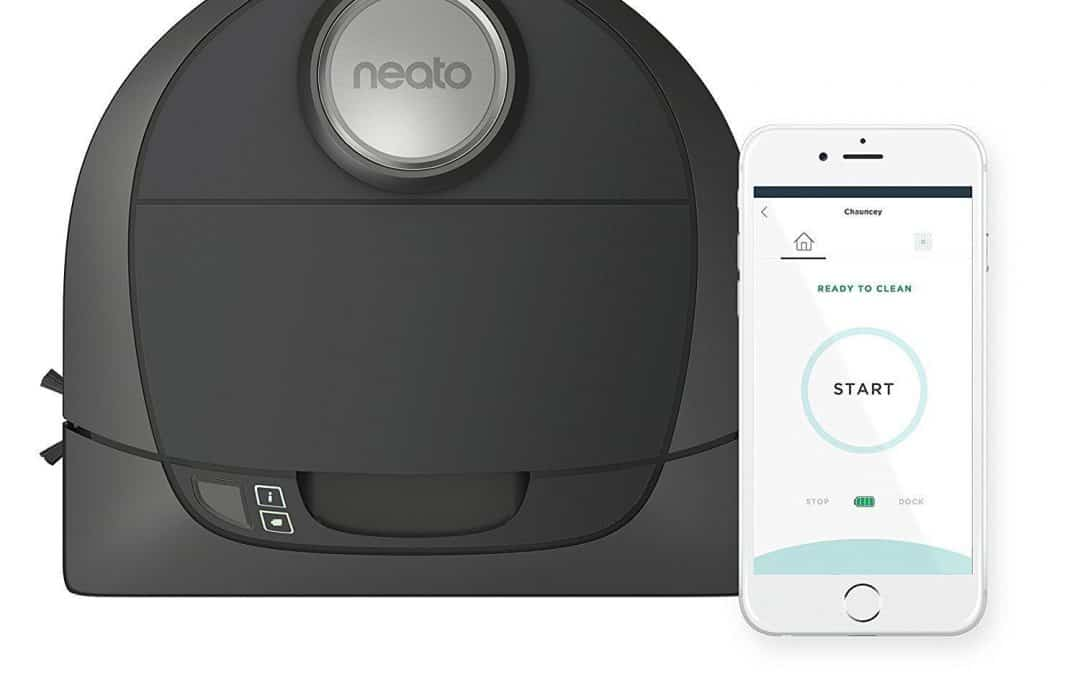 Neato Botvac Connected Wi-Fi Enabled Robot Vacuum Cleaner