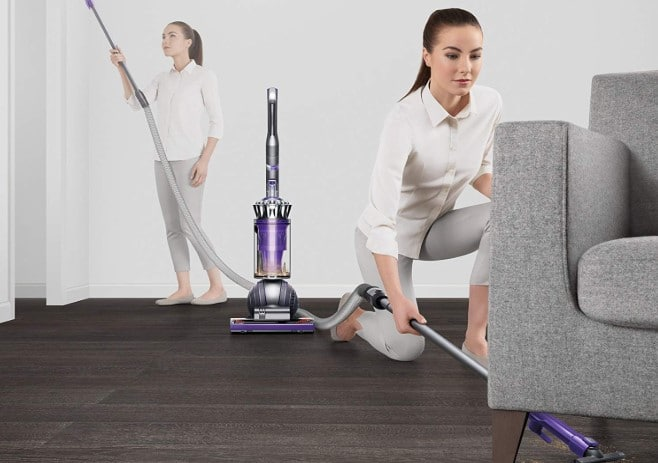 dyson ball animal 2 Vacuum under sofa and ceiling