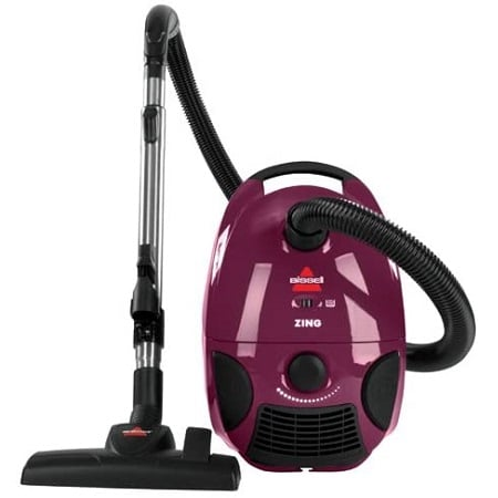 Bissell Zing Bagged Canister Vacuum 4122 review