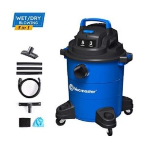 Vacmaster 3 Peak HP 5 Gallon Wet Dry Vacuum Cleaner
