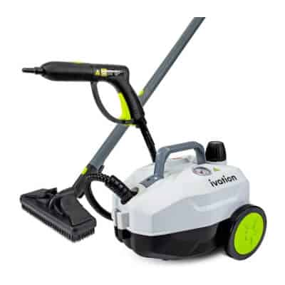 Ivation 1800W Canister Steam Cleaner with 14 Accessories